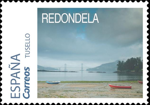 Sello del Camino Portugués dedicado a Redondela