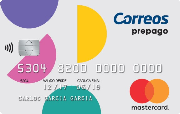 Tarjeta Prepago Correos Mastercard