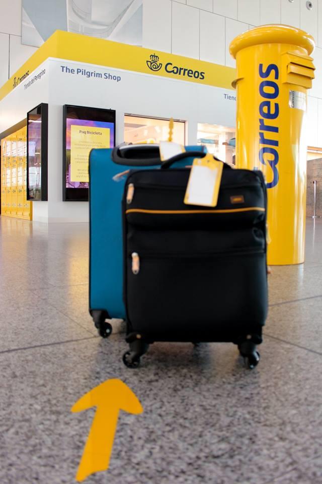 Transporte de maletas y equipajes del aeropuerto de Lavacolla a Santiago