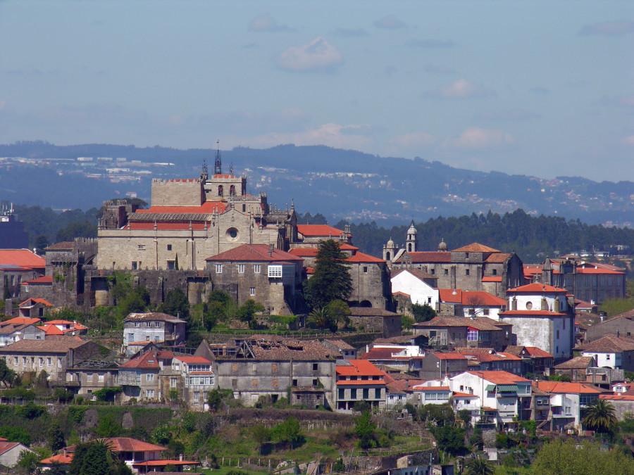 Tui, entrada a Galicia del Camino Portugués