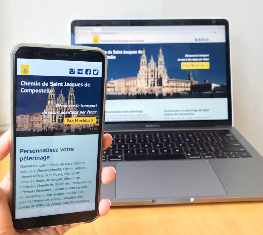 Nouveau site web consacré au pèlerinage de Saint-Jacques-de-Compostelle
