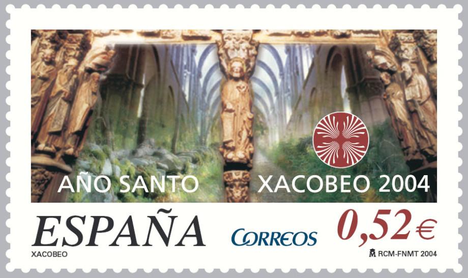 sello xacobeo 2004