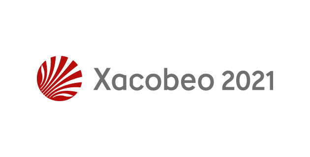 Logo oficial del Xacobeo 2021