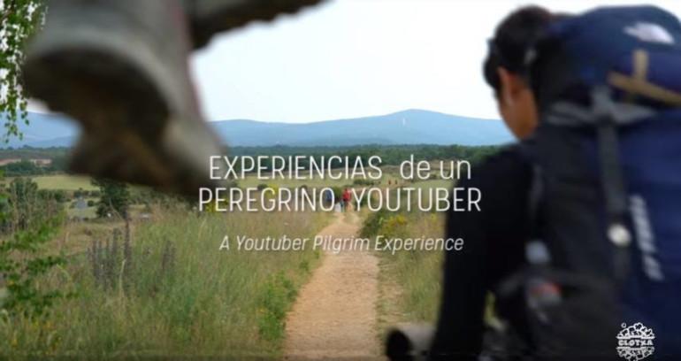 Xavier Jordi, peregrino del Camino de Santiago youtuber