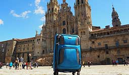Send luggage to Santiago