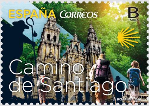 Francobolli Camino de Santiago