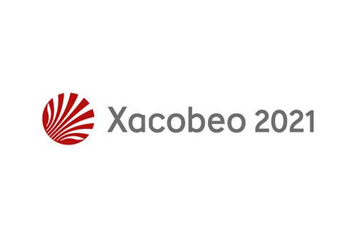 Logo oficial Xacobeo 2021