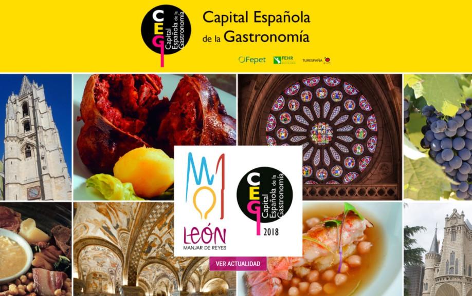 León, Capital Española de la Gastronomía 2018