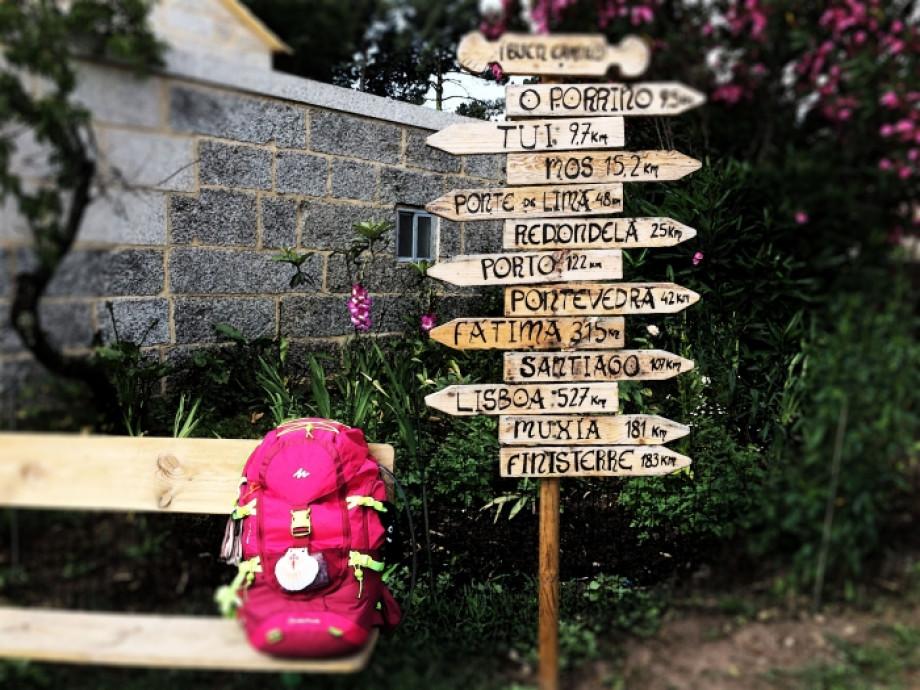 Vos bagages vous attendent à la fin de votre Pèlerinage de Saint-Jacques-de-Compostelle