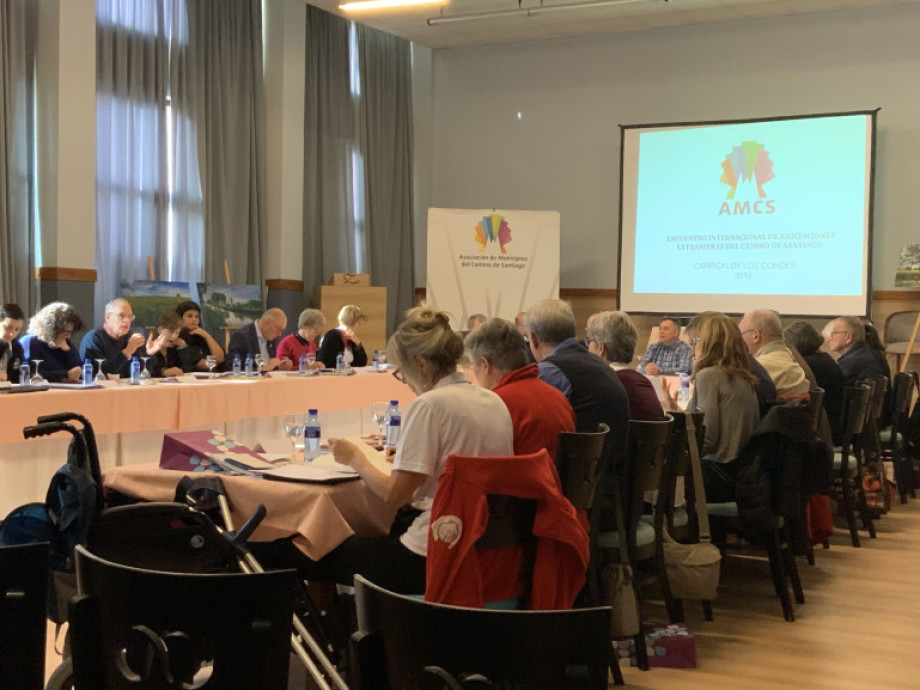 Reflecting on the Camino de Santiago during the first international meeting of associations