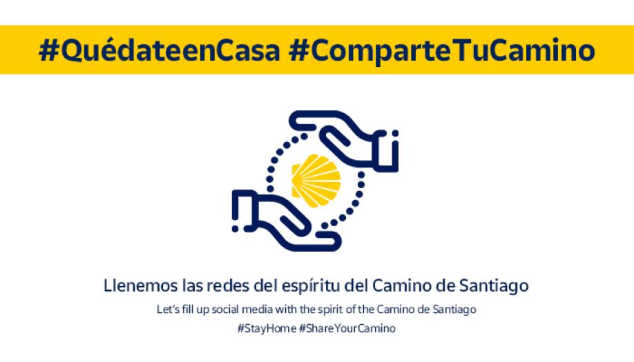 #ShareyourCamino: the Camino de Santiago at home