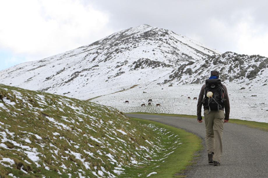 The Camino de Santiago in winter