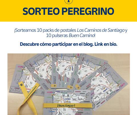 ¡Sorteamos 10 packs de postales y 10 pulseras del Camino de Santiago!