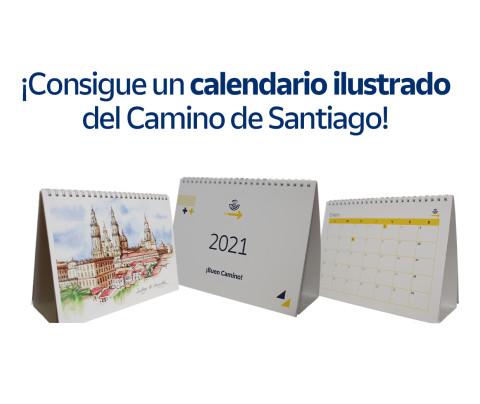 ¡Sorteamos 10 calendarios ilustrados del Camino de Santiago!
