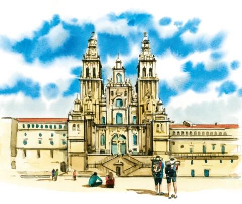 ¡Bienvenidos al albergue virtual del Camino de Santiago!