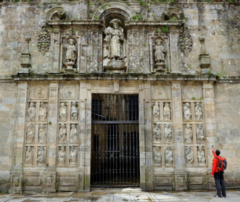 The Holy Door of Santiago