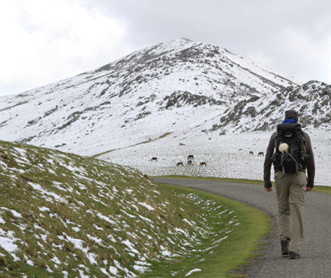 The Camino de Santiago in winter