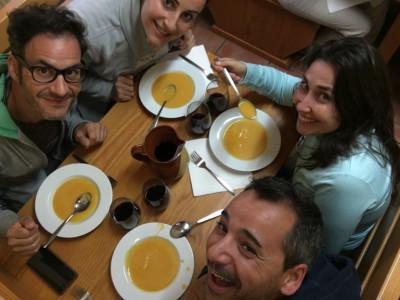 Vivimos la experiencia del Camino con tres blogueros de Castilla y León