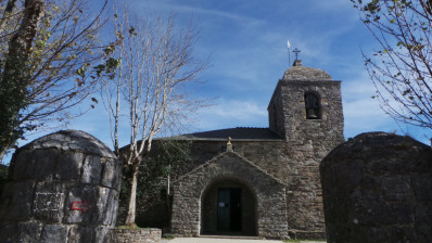 O Cebreiro, the town of the Camino