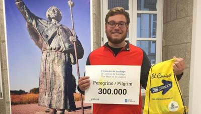 Andrew Larkin, el peregrino 300.000