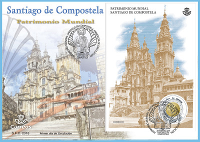 Jacobean stamps, companions of the Camino