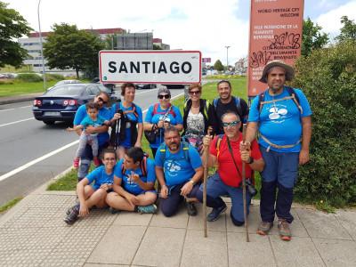 Federico, un ejemplo de superación en el Camino de Santiago