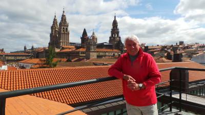 Fernando Bravo, de las ondas argentinas al Camino de Santiago
