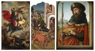 Santiago Apóstol en el Museo del Prado
