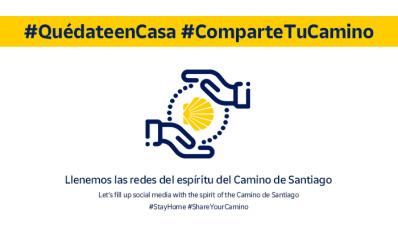 #ComparteTuCamino: el Camino de Santiago en tu casa