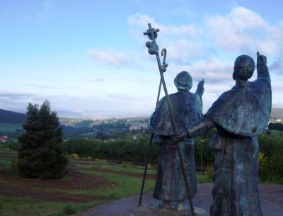 The origins of the pilgrimage routes to Santiago de Compostela