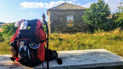 La luz del Camino de Santiago