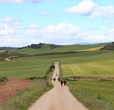 The Camino de Santiago without pilgrims