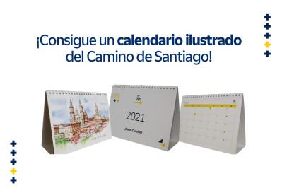 ¡Consigue un calendario ilustrado del Camino de Santiago! [SORTEO]