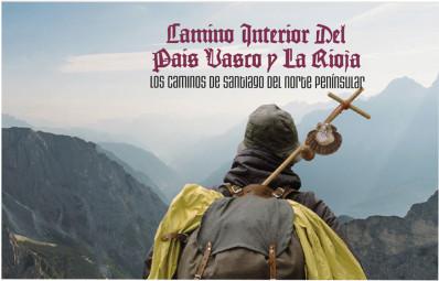El Camino interior del País Vasco y La Rioja en sellos