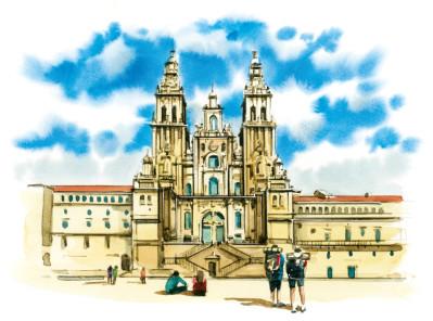 Welcome to the virtual hostel on the Camino de Santiago!