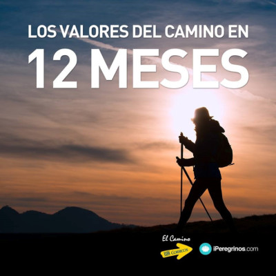 Camino de Santiago values in 12 months