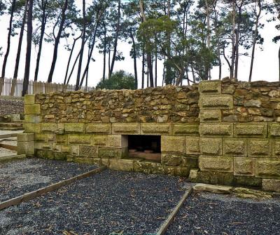 Villa romana Salinas de Toralla, Camino Portugués por la Costa