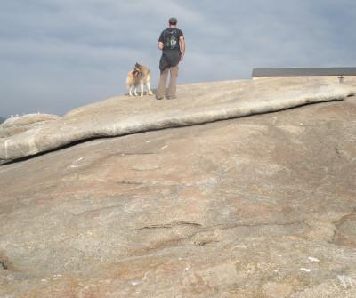 Piedra de Abalar, en Muxía