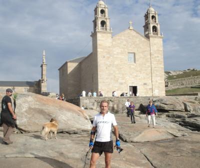 Iglesia en el Camino a Fisterra y Muxía