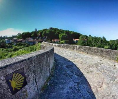 Ponte Maceira, punto del paso del Camino a Fisterra
