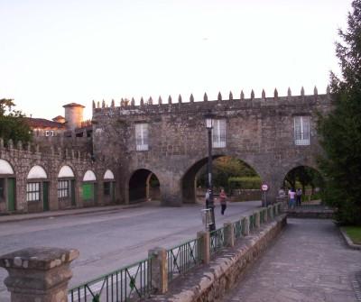 Pazo en Negreira, primera etapa del Camino a Fisterra