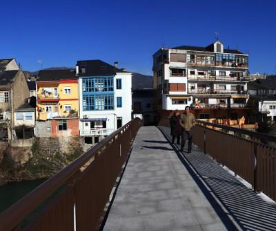 Puente en O Barco de Valdeorras