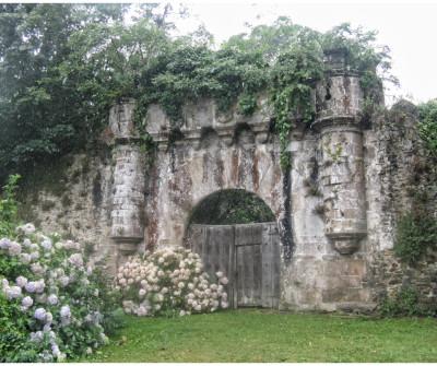Muros de Nalón, Camino del Norte