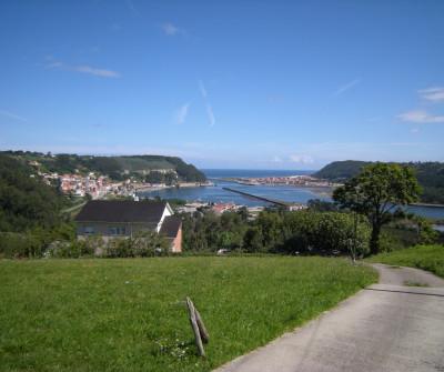 San Esteban de Pravia, en el Camino del NOrte