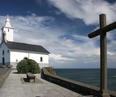 Iglesia de Luarca, en Asturias
