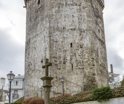 Torre de Andrade de Vilalba, Camino del Norte