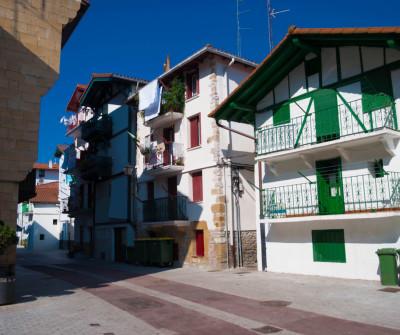 Camino del Norte entre Irún y San Sebastián