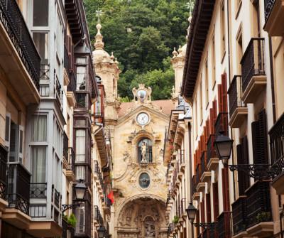 Casco viejo de San Sebastián