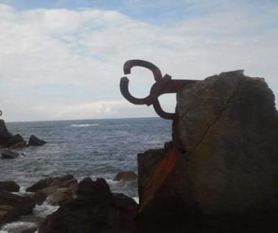 Peine del Viento de Chillida en San Sebastián