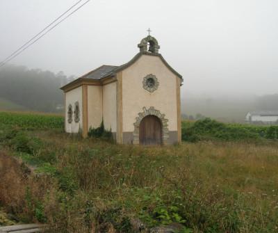 Iglesia de Otur, Camino del Norte
